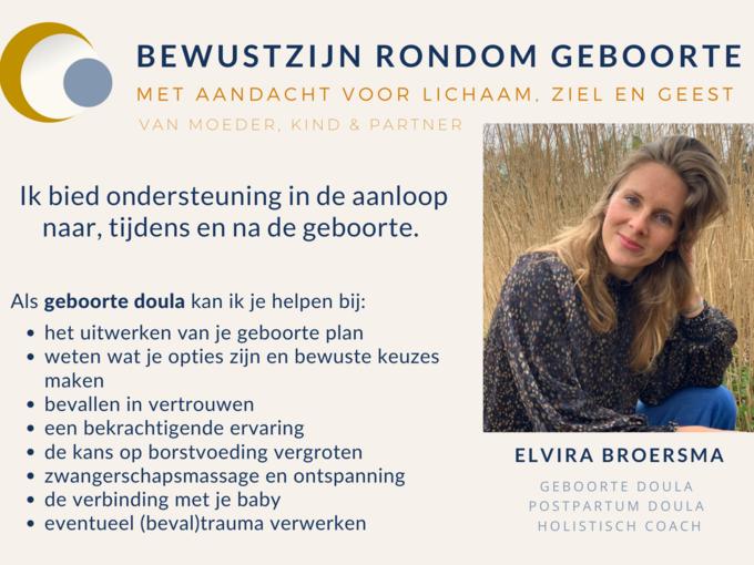 Elvira Broersma flyer voorkant